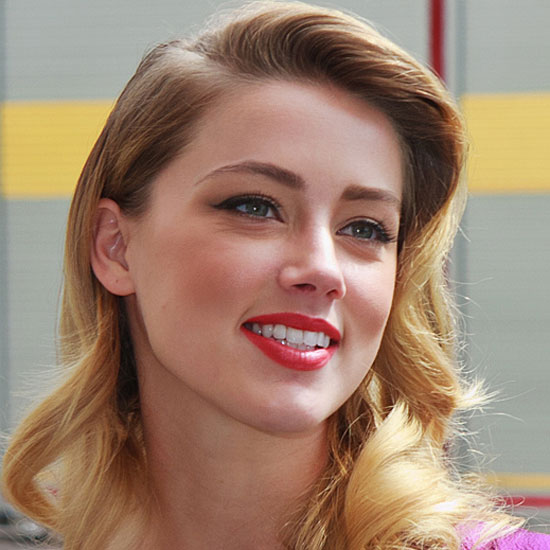 Amber Heard as the Village Idiot