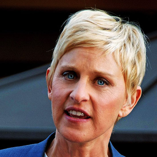 This Weeks Village Idiot is Ellen DeGeneres
