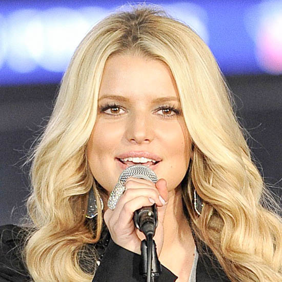 Jessica Simpson as the Village Idiot