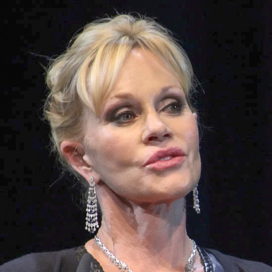 Melanie Griffith as the Village Idiot