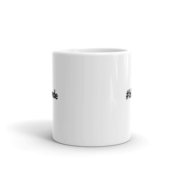 11oz Front Hashtag blonde Coffee Mug