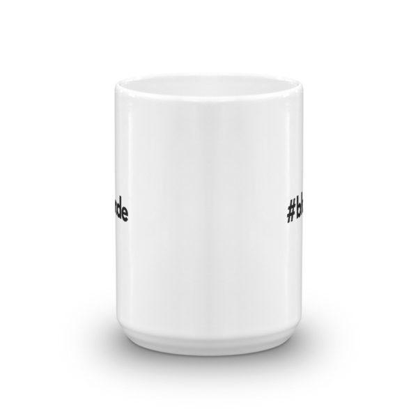 15oz Front Hashtag blonde Coffee Mug