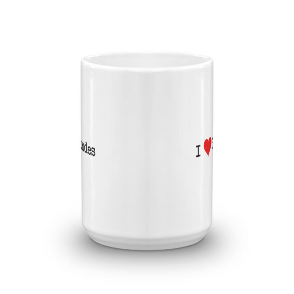 15oz Front I Heart Blondes Coffee Mug
