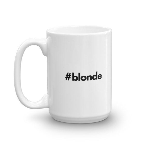 15oz Left Hashtag blonde Coffee Mug