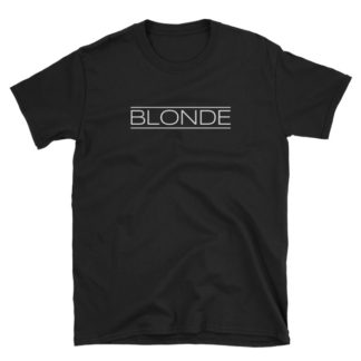 Blonde Black Short-Sleeve Women's T-Shirt