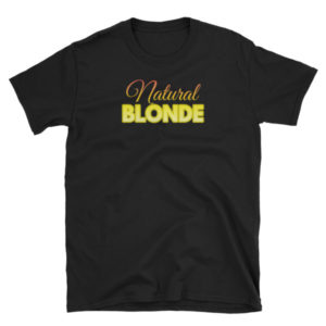Natural Blonde - Short-Sleeve Women's T-Shirt (Dark)