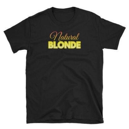 Natural Blonde Black Short-Sleeve Women's T-Shirt