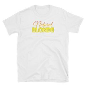 Natural Blonde - Short-Sleeve Women's T-Shirt (Light)