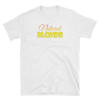 Natural Blonde White Short-Sleeve Women's T-Shirt