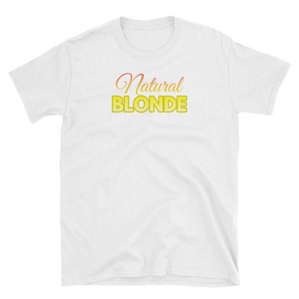 Natural Blonde White Short-Sleeve Women's T-Shirt