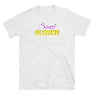 Smart Blonde - Short-Sleeve Women's T-Shirt (Light)
