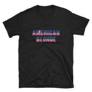 American Blonde - Short-Sleeve Men's T-Shirt (Dark)