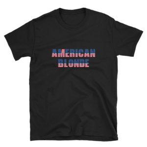 American Blonde - Short-Sleeve Women's T-Shirt (Dark)