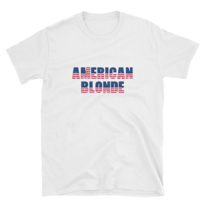 American Blonde White Short-Sleeve Womens T-Shirt
