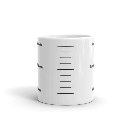 11oz Center Blonde Gauge Coffee Mug