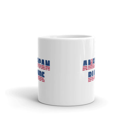 11oz Front American Blonde Coffee Mug