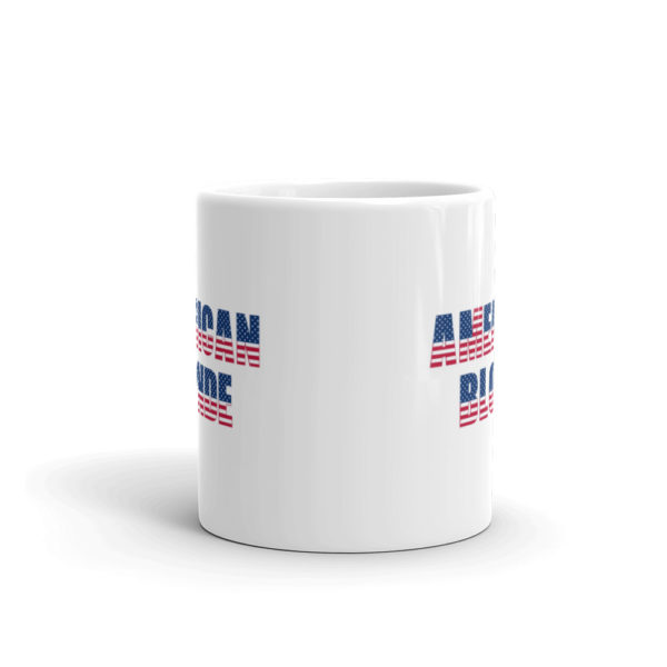 11oz Front American Blonde Coffee Mug