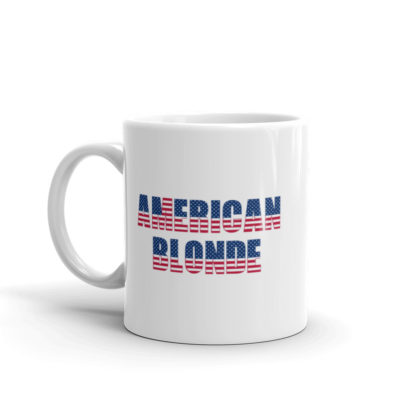 11oz Left American Blonde Coffee Mug