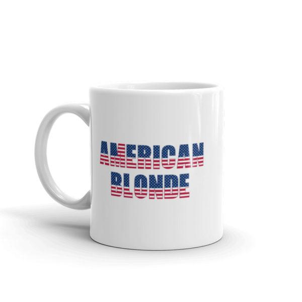11oz Left American Blonde Coffee Mug