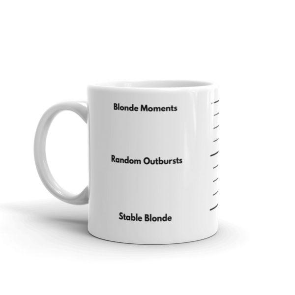 11oz Left Blonde Gauge Coffee Mug