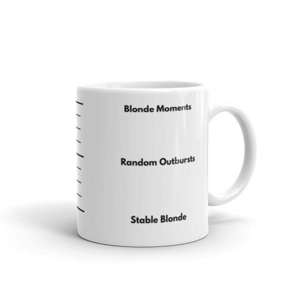 11oz Right Blonde Gauge Coffee Mug