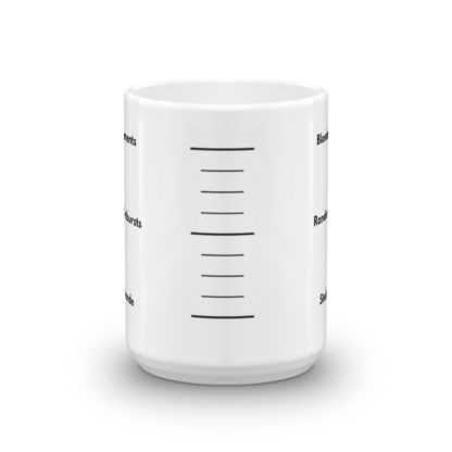 15oz Center Blonde Gauge Coffee Mug