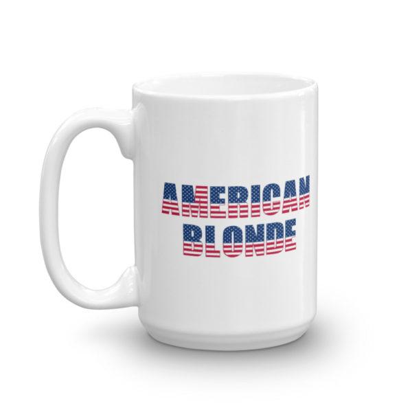 15oz Left American Blonde Coffee Mug