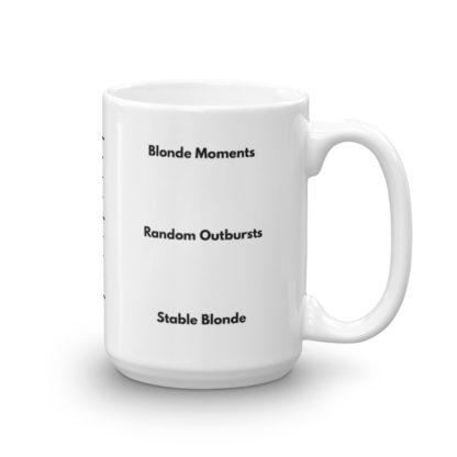 15oz Right Blonde Gauge Coffee Mug
