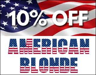10% Off American Blonde