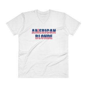American Blonde - Men's V-Neck T-Shirt (Light)
