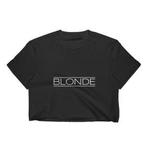 Blonde - Women's Crop Top (Dark)