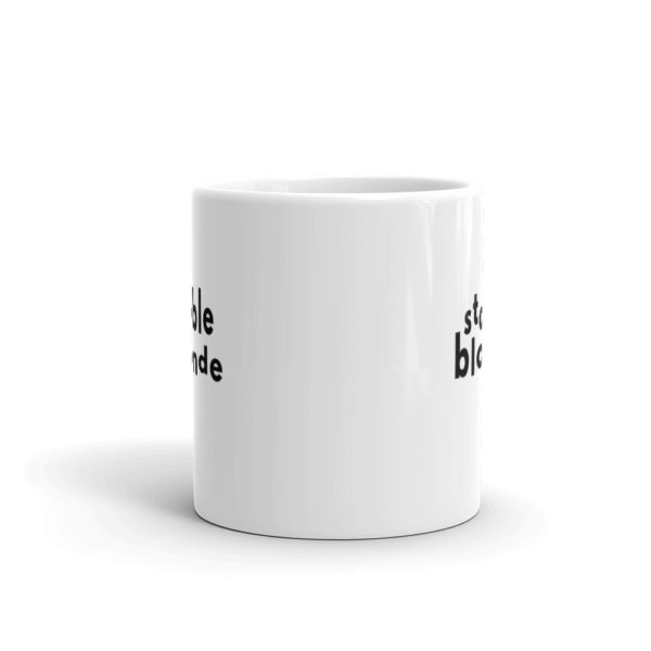 11oz Center Stable Blonde Coffee Mug