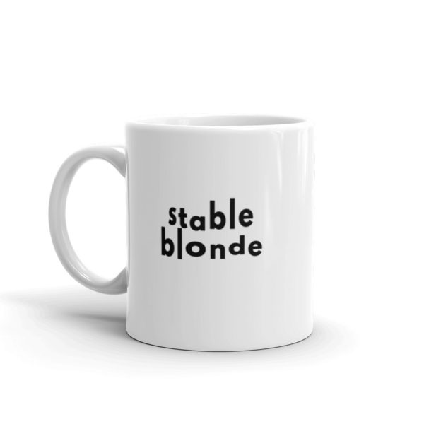 11oz Left Stable Blonde Coffee Mug