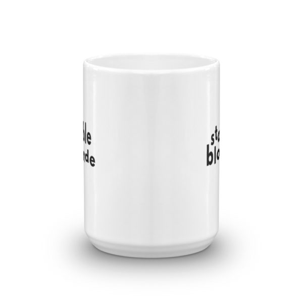 15oz Center Stable Blonde Coffee Mug