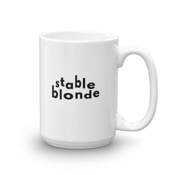 15oz Right Stable Blonde Coffee Mug