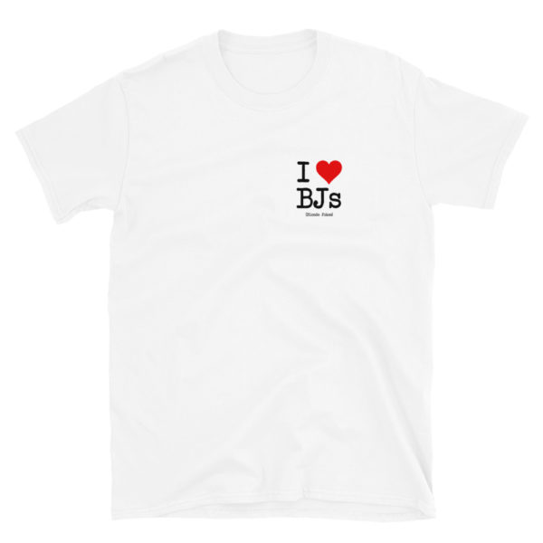 I Love BJs - Short-Sleeve Mens T-Shirt (Light)