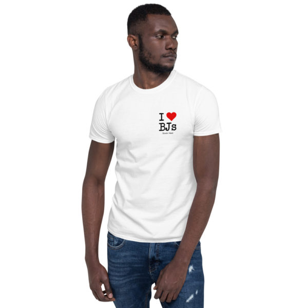 I Love BJs - Short-Sleeve Mens T-Shirt (Light) Model